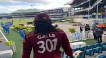 Gayle has no idea of retirement now