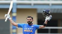 India scored 279 in second odi against west indies