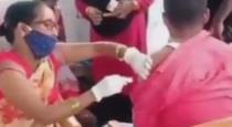 Bihar Nurse Vaccinates Man With Empty Syringe
