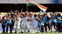 India won test series
