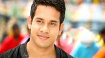 Actor bharath released new photo with twins baby