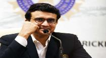 Ganguly announced about national cricket games