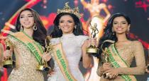 Miss Grand International 2018 Final Winner fall down on stage
