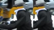 Headless man drive bike in chennai Tambaram viral video
