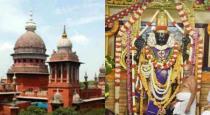high court order about athivarathar dharisanam