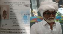 81 year old man in airport