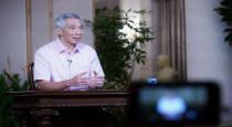 Singapore pm talk about corona