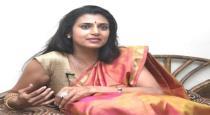 Actress Kasturi Slams Rajinikanth