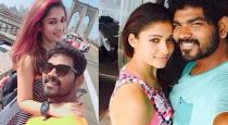 Nayanthara went thirupathi with vignesh sivan