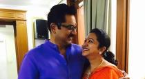 Radhika gave birthday surprise to sarathkumar