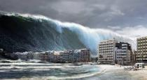 Warning for tsunami