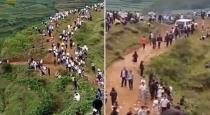 Thousands of Chinese villagers hunt for mysterious creature