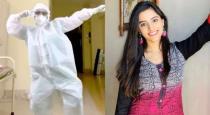 Mumbai doctor dance in PPE kit