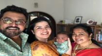 Radhika daughter rayane blessed with second baby