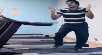 ashwin-kumar-dance-for-kamal-song-in-treadmil