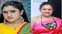 Vanitha send legal notice to lakshmi ramakrishnan