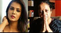 Lakshmi ramakrishnan escaped from meera mithun issue