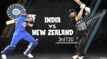 3 rd t20 against india and newzland