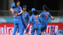 indian women cricket team won first match