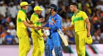 India won the 3rd odi match against to australia