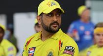 May be today is the last IPL match for Dhoni