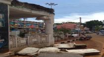 kangai kondan madabam damaged for rain