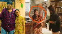 Karthik Subbarajs wife acted in Petta scene found by netisans