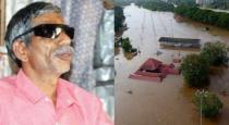 man loss his 2 eyes in kerala flood
