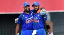 Kholi and rohit tops at icc odi rankings