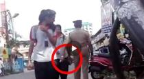 police officer Touches Women Inappropriately