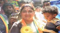 Kushboo different kind of approach in Thousand light constituency