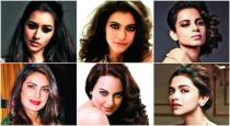 Top most gorgeous celebrities from india