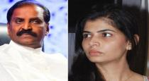 Kavingar vairamuthu admitted in hospital