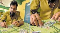 Kerala auto driver rips winning lottery sheet