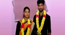 Erode newly married couples attacked by family members