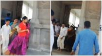 surya-and-jodhika-temple-visit-video-goes-viral