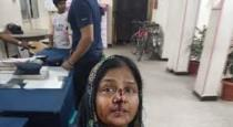 mansur alikan wife attacked by her family members