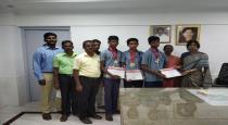pudukottai students won state level