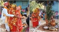 Indian man married two bride on single stage viral video