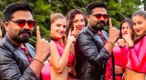 STR and Simbu new movie title and first look on deepavali
