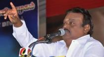 vijayakanth announcement for election