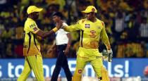 Dhoni hits continues sixes in last over