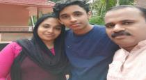 parents wrote exam with son