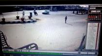 Thelungana bike car accident viral cctv video