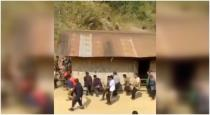 Locals shift house on foot in Nagaland village in viral video