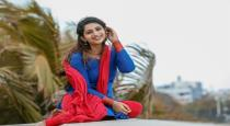 Actress nakshathra nagesh latest saree look photos