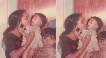 Actress nayanthara childhood photo with mother
