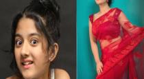 Child actress Shriya Sharma current photos goes viral
