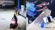 Vilupram petrol bunk robbery viral cctv video