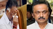 mk stalin condolence to ops wife